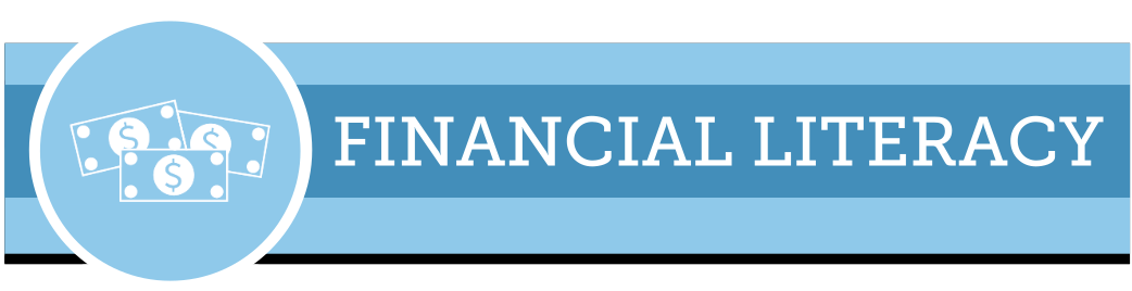 Web banner for financial literacy