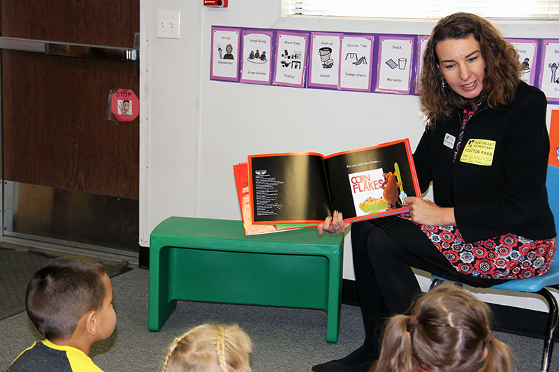 Katy Anthes Reading to Preschoolers