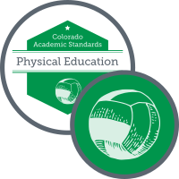 Graphic for academic standards for physical education