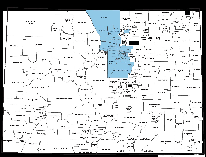 EE Metro Region Map