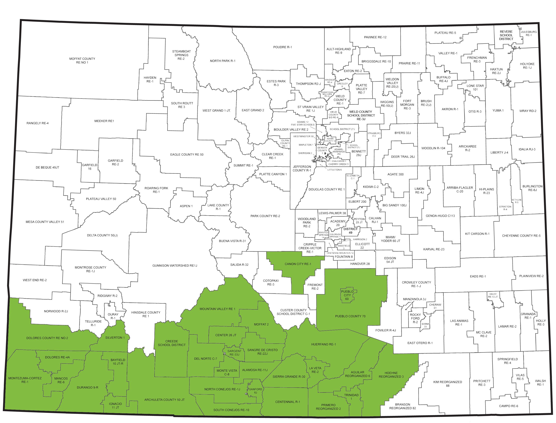EE Southwest Regional Map