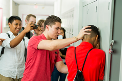 Physical Bullying at a Locker