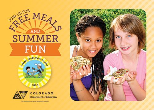 Summer Food Service Program - Banner 2 ICON