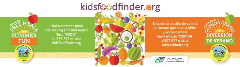 2018 Summer Food Service Program Website Banner (800x225 px)