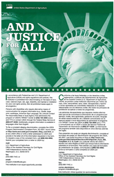 Civil Rights - And Justice for All poster