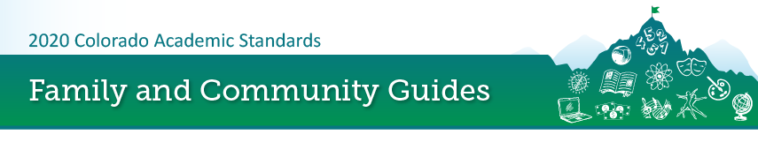 2020 standards family and community guides banner