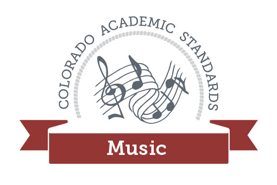 Colorado Academic Standards Music Graphic